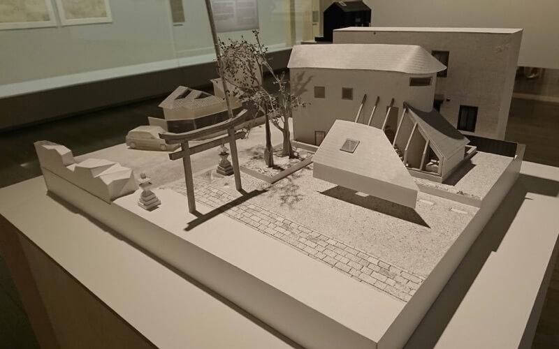 日本の家の模型